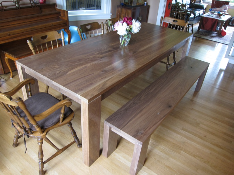 Dining Room Table and Bench