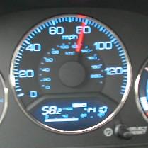58.2 miles per gallon!